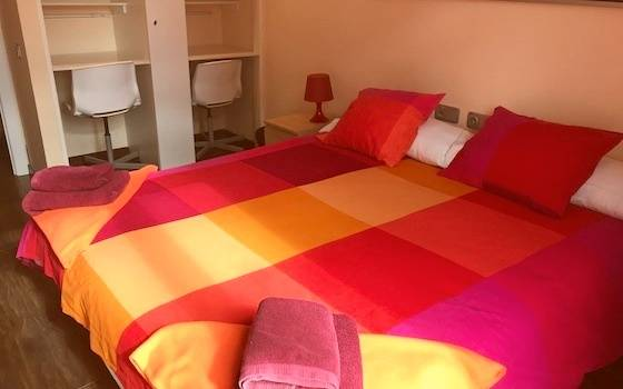Photo of a double room with private bathroom in our On-Site Superior Accommodation