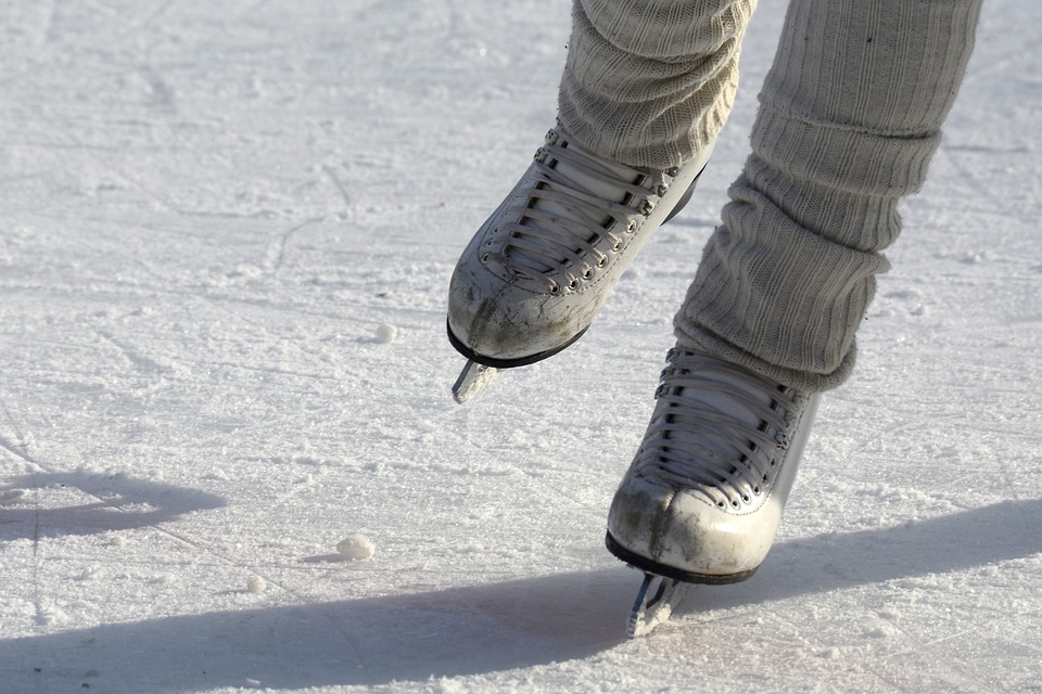 ice skating in barcelona