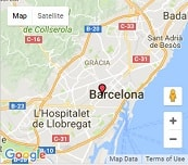 Camino Barcelona Spanish Language School on the map