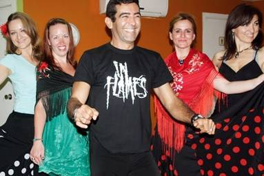 flamenco lessons in our dance school