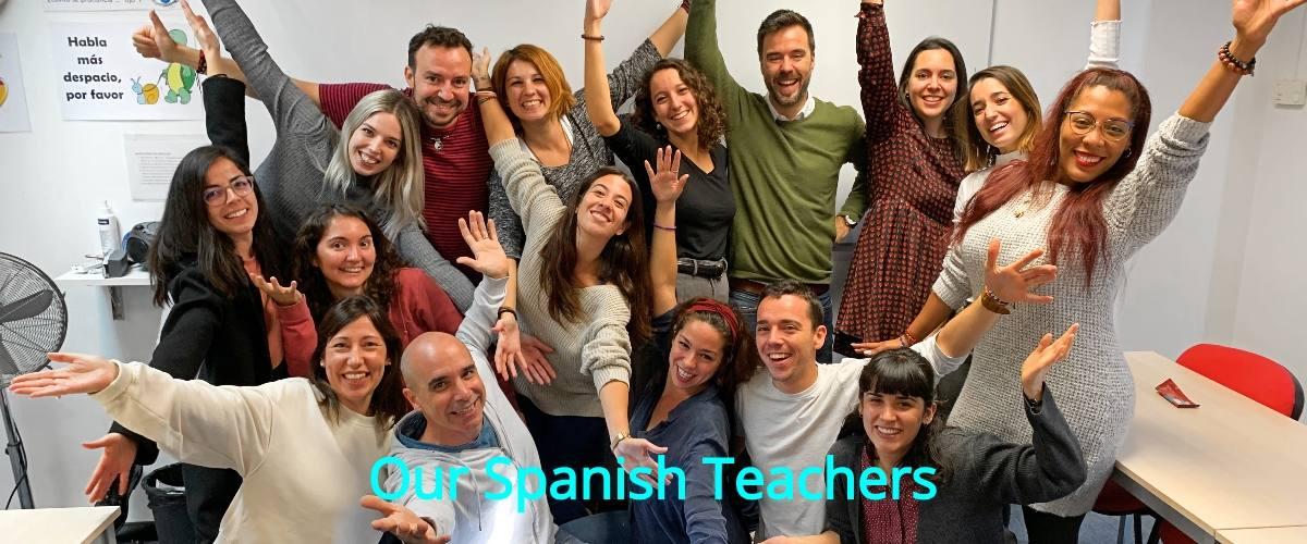 Our Spanish Teachers Team, December 2019