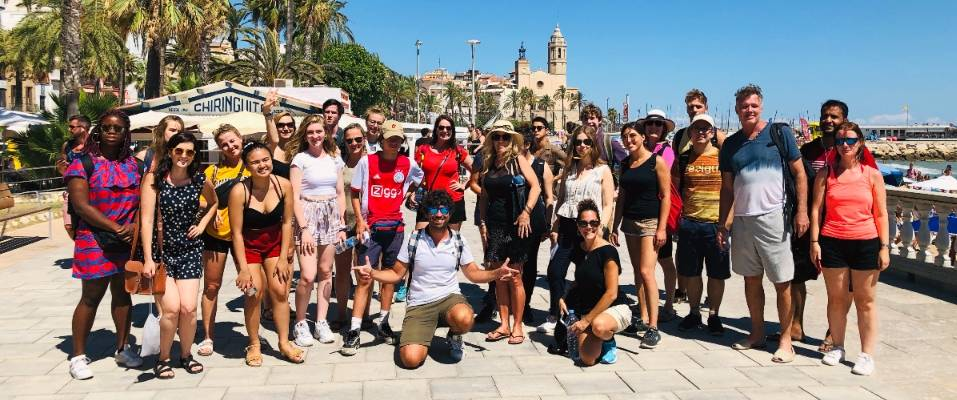 Tour to Sitges with Pedro width=