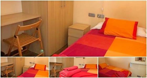 Photo of a small single room in our On-Site Superior Accommodation
